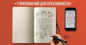 7 приложений для запуска креативности