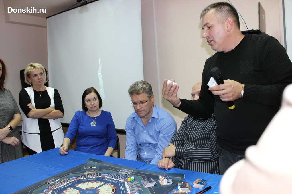 Промо игры MatriX в Йошкар-Оле. Игротехник Андрей Донских
