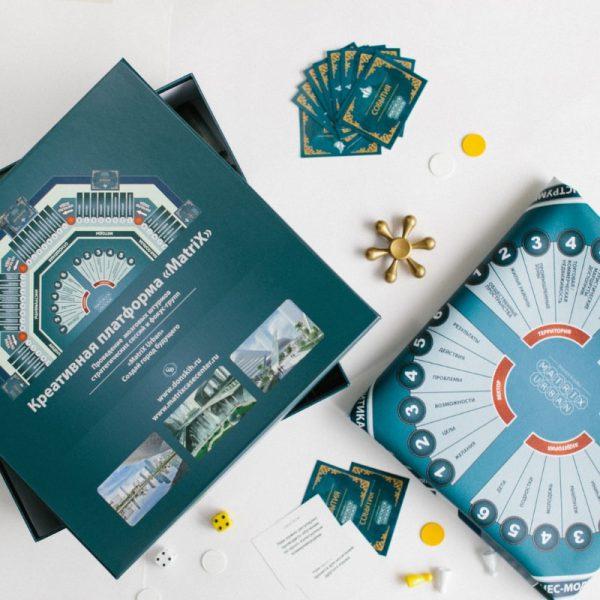 Стратегическая игра MatriX Urban. Игровой комплект