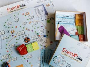 Настольная бизнес-игра StartUPыш для школьников и студентов